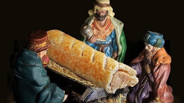 Sausage-Roll Jesus Stirs Up An Early Christmas Controversy