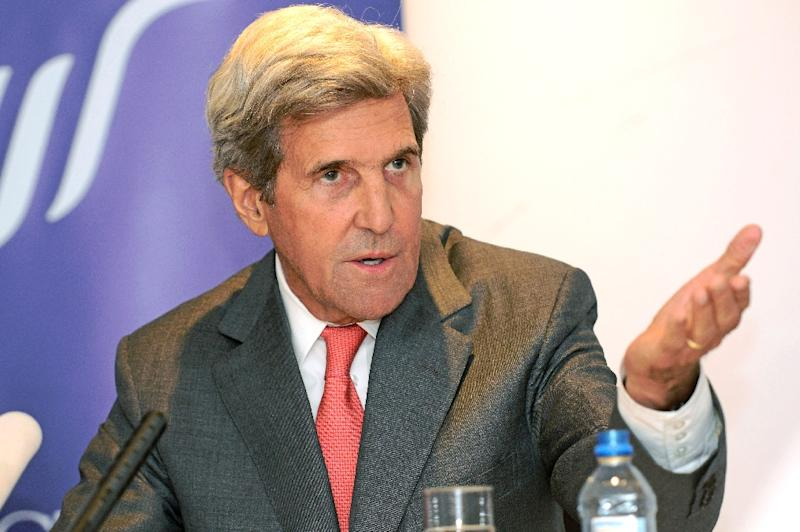 "Former US Secretary of State John Kerry said President Donald Trump's decision to decertify the Iran nuclear deal ""endangers America's national security interests"""