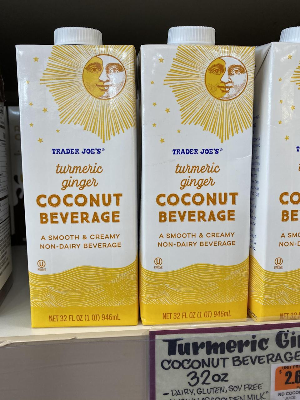<p>This Turmeric Ginger Coconut Beverage tastes delicious on its own, but is also amazing warmed up, added to chai tea or coffee, mixed into oatmeal, or used in all your fall baking. </p>