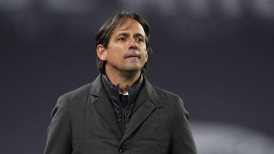 Simone Inzaghi durante Juventus-Lazio   Jonathan Moscrop/Getty Images