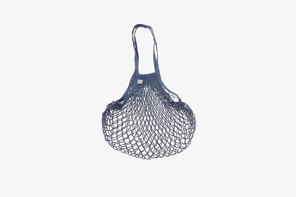 """While most of us won't be perusing a French market anytime soon, a reusable bag like this one from Filt will come in infinitely handy on grocery store runs. Choose from shades of blue, white, turquoise, or yellow. $20, Anthropologie. <a href=""""https://www.anthropologie.com/shop/filt-french-market-tote-bag"""" rel=""""nofollow noopener"""" target=""""_blank"""" data-ylk=""""slk:Get it now!"""" class=""""link rapid-noclick-resp"""">Get it now!</a>"""