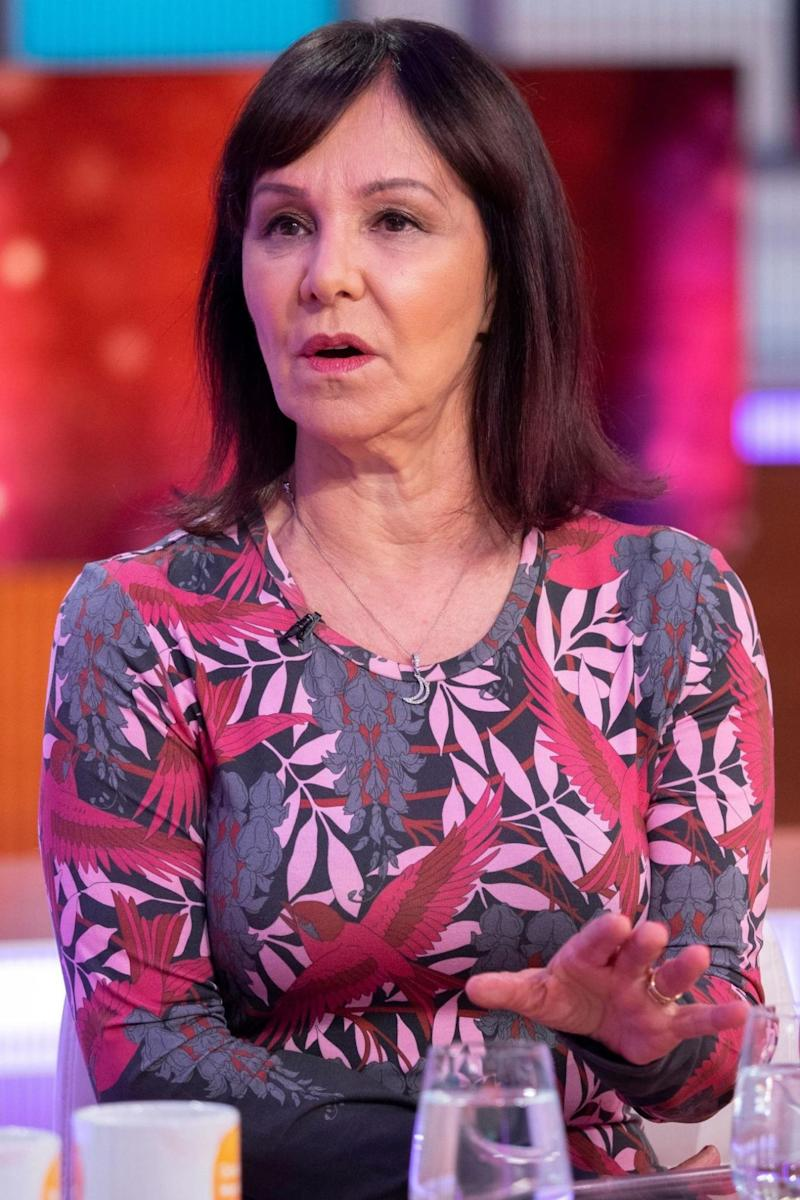 Suspicious: Arlene Phillips on Good Morning Britain (Ken McKay/ITV/Rex )