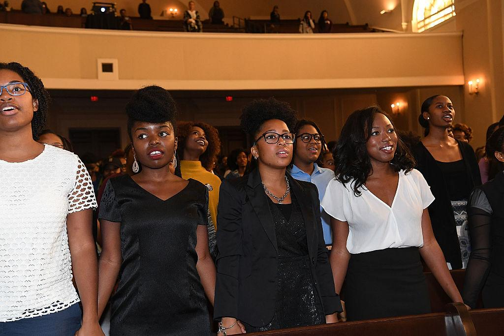 Students at Spelman College in 2016. (Credit: Getty Images)