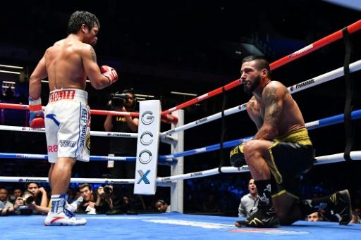 It was a dominant devastating display as Manny Pacquiao registered the 60th win of a fabled 23-year careerMore