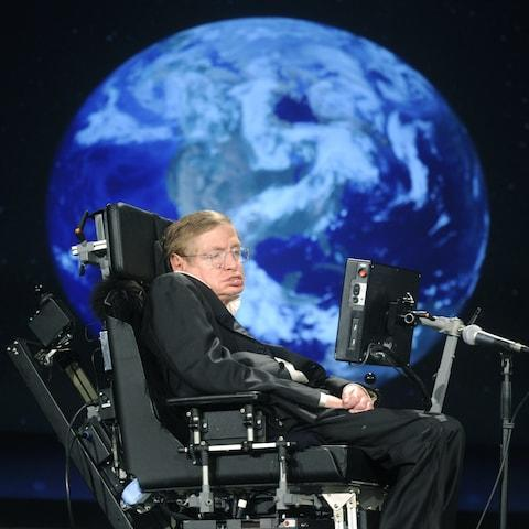 """The new paper is a bid to clear up an issue thrown up by Hawking's 1983 """"no-boundaries"""" theory - Credit: Barcroft Images"""