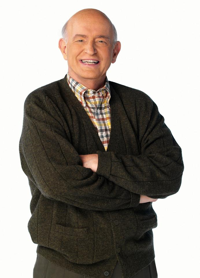 """<span style=""""font-weight:bold;"""">Peter Boyle </span>as Frank Barone, """"Everybody Loves Raymond"""" (1996-2005)<br><br>Outstanding Supporting Actor in a Comedy Series<br><br>0 wins, 7 consecutive nominations (1998-2005)"""