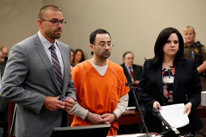 Larry Nassar pleaded guilty to multiple counts of sexual abuse (AFP/Getty Images)