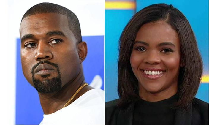 Kanye West and Candace Owens (Getty/Fox)