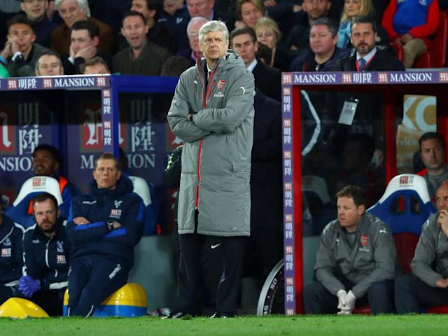 Wenger ditched his 4-2-3-1 formation after defeats by West Brom and Palace (Getty)