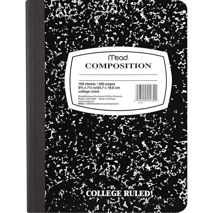 <p>Mead marble notebooks are, of course, still around, but while some kids might use them, they aren't quite as popular as they once were. Years ago, you couldn't walk into a classroom without seeing a handful of these - now, a lot of kids use laptops for note taking. </p>