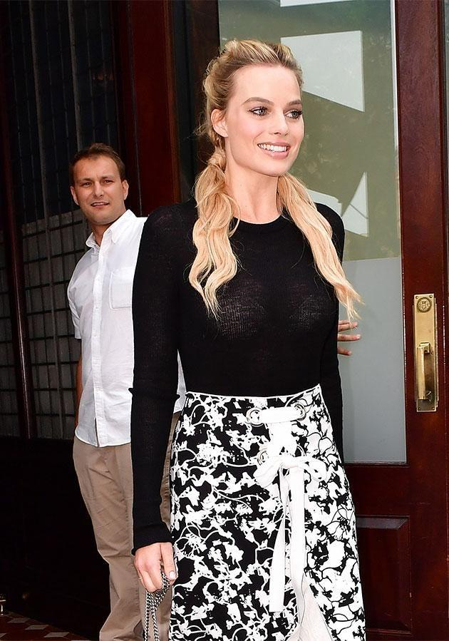 Robbie's friends put her passport in the microwave. Photo: Getty Images
