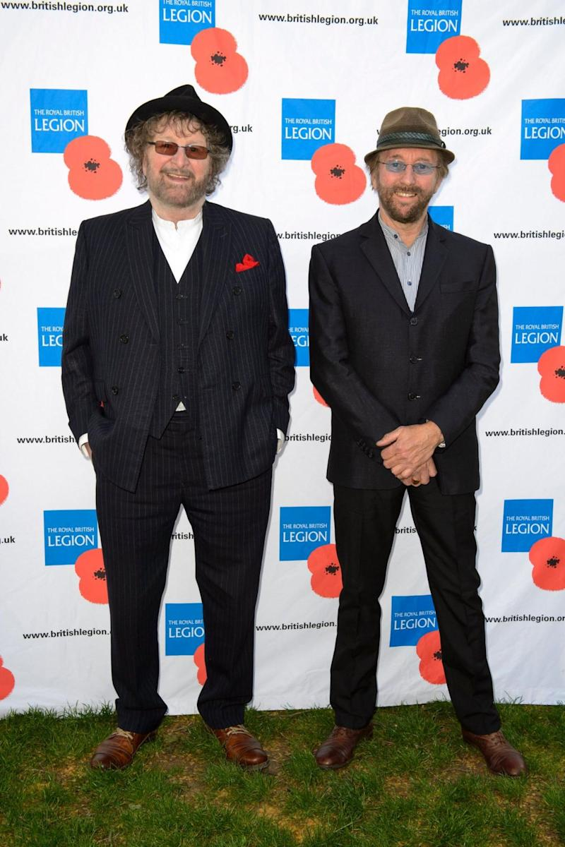 Chas and Dave pictured together in 2015 (PA)