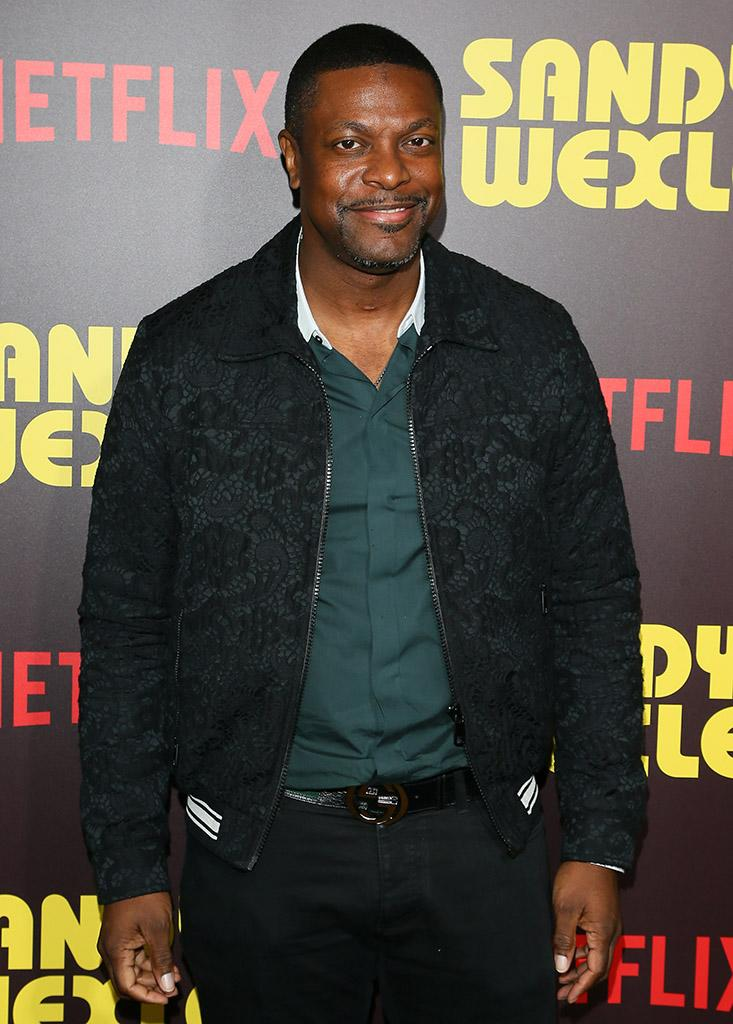 Chris Tucker hit the red carpet at the