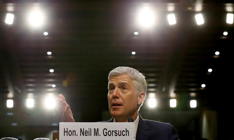 'The trouble with Neil Gorsuch, we learned this week, is not ideology but humanity.'