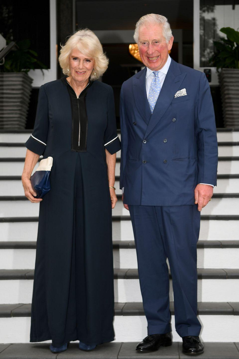 <p>Charles and Camilla during their royal tour of New Zealand this fall. </p>