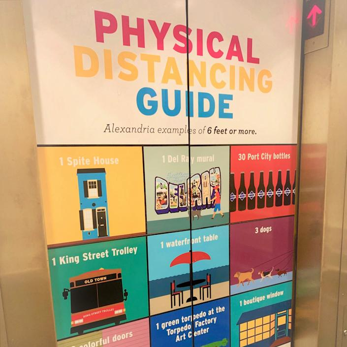 3. Elevator Physical Distancing in Alexandria