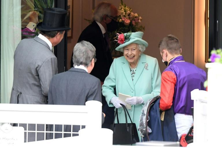 Queen Elizabeth II may not have had a winner on the final day of Royal Ascot but she took a keen interest chatting to several trainers and the jockeys on the edge of the parade ring
