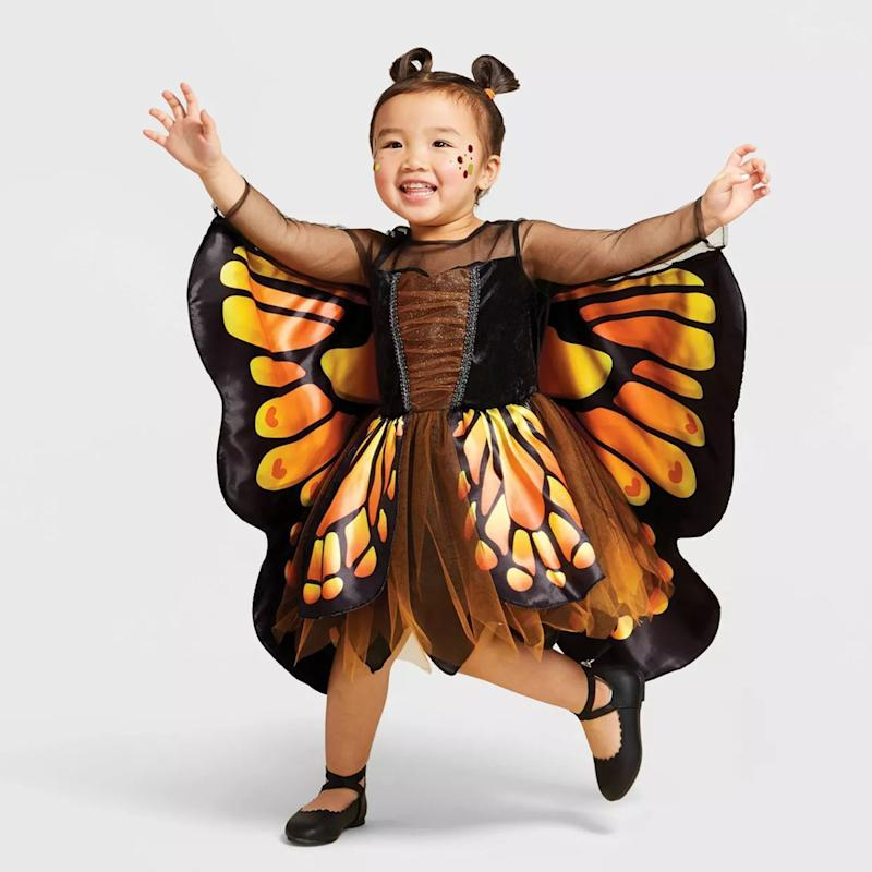 Toddler Monarch Butterfly Halloween Costume