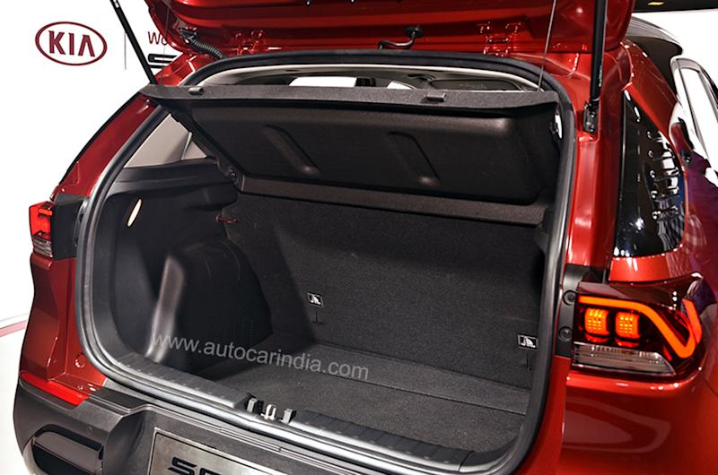 Boot space is generous and should be around the Venue's 350L mark.