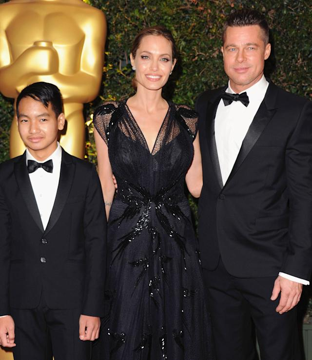 Angelina Jolie said that Brad Pitt was her rock during her preventive double mastectomy. (Photo: Getty Images)