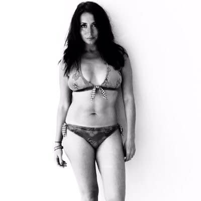 Actress Paula Williamson has been in a relationship with Bronson for five months (Picture: @deviantdemonica/Twitter)