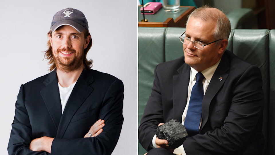 The Atlassian CEO has challenged the prime minister over his energy policy. <i>Photos: AAP</i>
