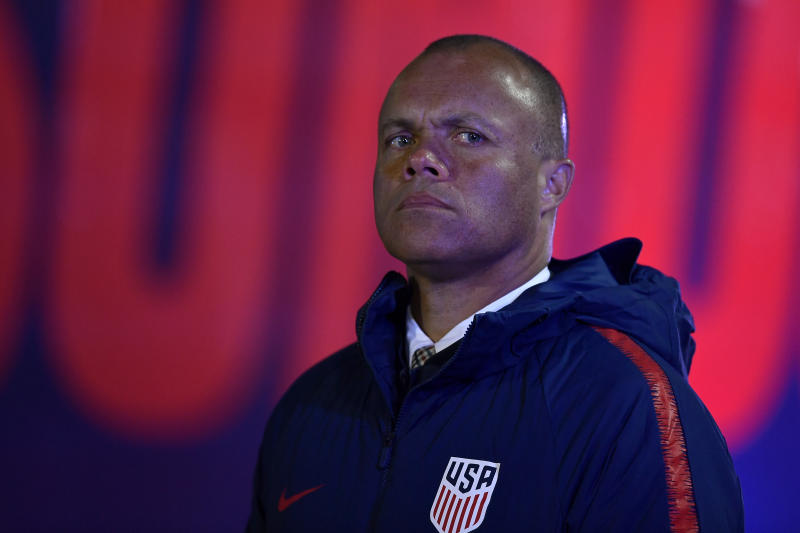 U.S. Soccer sporting director Earnie Stewart. (Robin Alam/Getty)