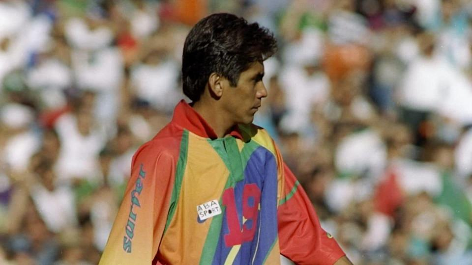 Il sobrio Jorge Campos | Stephen Dunn/Getty Images