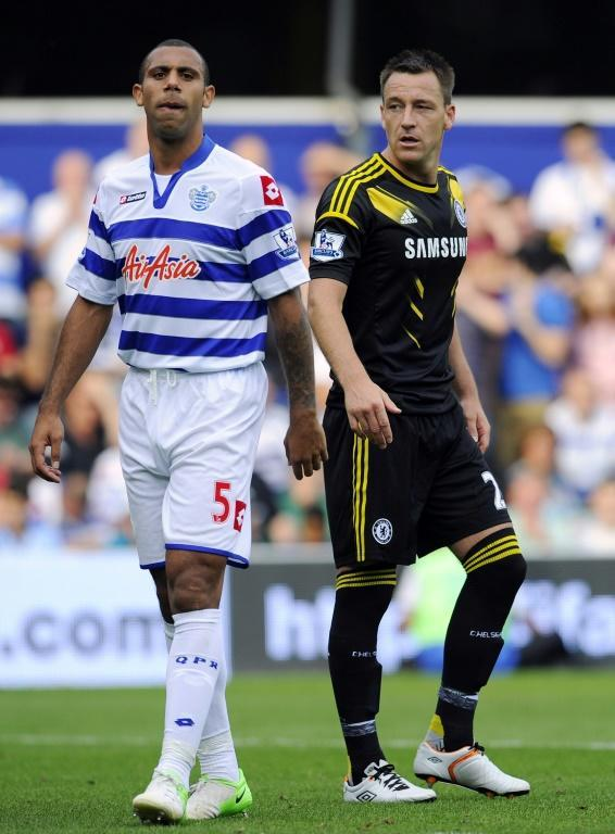 Anton Ferdinand was at the centre of a racism row with Chelsea's John Terry in 2011, which saw the latter banned for four games but cleared by a court of criminal wrongdoing (AFP/GLYN KIRK)
