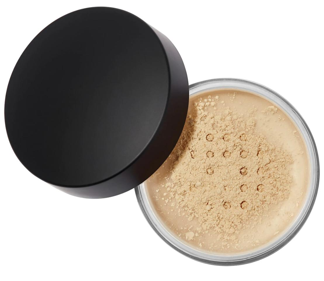 """<p>This lightweight <product href=""""https://www.sephora.com/product/loose-setting-powder-P449149?skuId=2270577&amp;icid2=products%20grid:p449149:product"""" target=""""_blank"""" class=""""ga-track"""" data-ga-category=""""Related"""" data-ga-label=""""https://www.sephora.com/product/loose-setting-powder-P449149?skuId=2270577&amp;icid2=products%20grid:p449149:product"""" data-ga-action=""""In-Line Links"""">Anastasia Beverly Hills Loose Setting Powder in Banana</product> ($38) is very fine, so it blends in effortlessly.</p>"""
