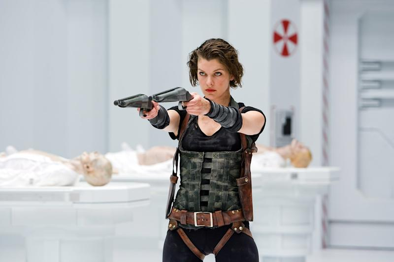 RESIDENT EVIL: AFTERLIFE, Milla Jovovich, 2010. Screen Gems/courtesy Everett Collection