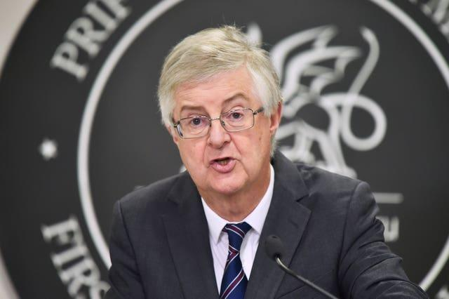 Wales' First Minister Mark Drakeford