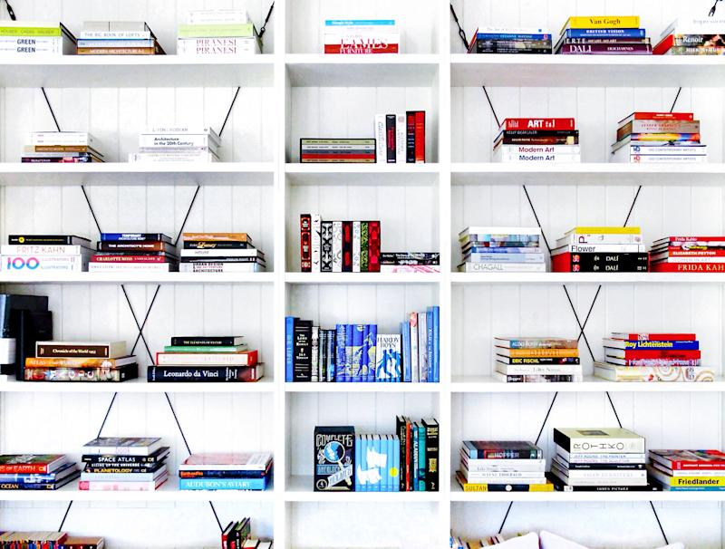 Gwyneth Paltrow's perfectly curated bookshelf [Photo: Juniper Books]