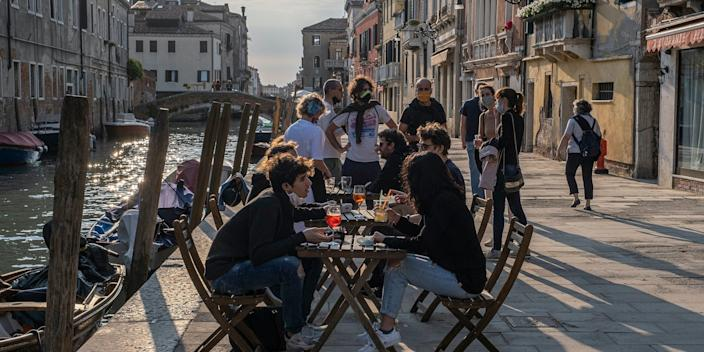 Venice reopening