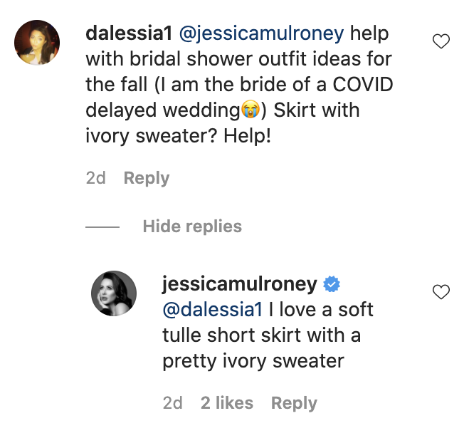 Jessica Mulroney Is Offering Free Pandemic Wedding Advice to People Who Comment on This Instagram Post