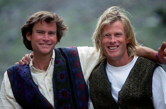 American mountaineer Alex Lowe was killed on an expedition with cameraman Dave Bridges, in October, 1999, at Shishapangma, southern Tibet, when they were overcome by an avalanche. Picture: Alex Lowe Charitable Foundation