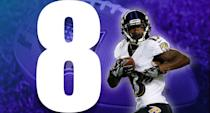 <p>On Sunday night, 11 different players caught a pass for the Ravens. Last season, and probably the season before, the Ravens barely had a handful of capable offensive players around Joe Flacco. (John Brown) </p>