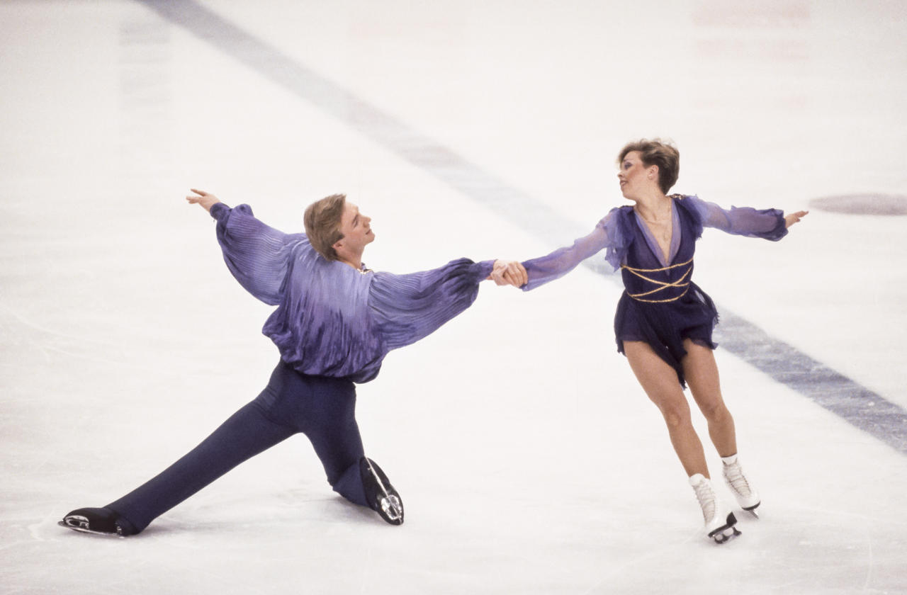 "<p>At the 1984 Winter Games in Sarajevo, British duo Jayne Torvill and Christopher Dean elevated the staid sport of ice dancing to new heights, earning perfect scores from the judges and winning a gold medal for their perfect execution of an enthralling routine set to Ravel's ""Bolero."" (Getty) </p>"