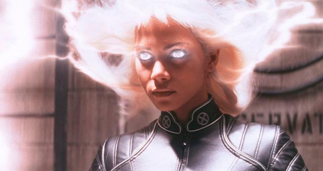 "Halle Berry as Storm in ""X-Men."""