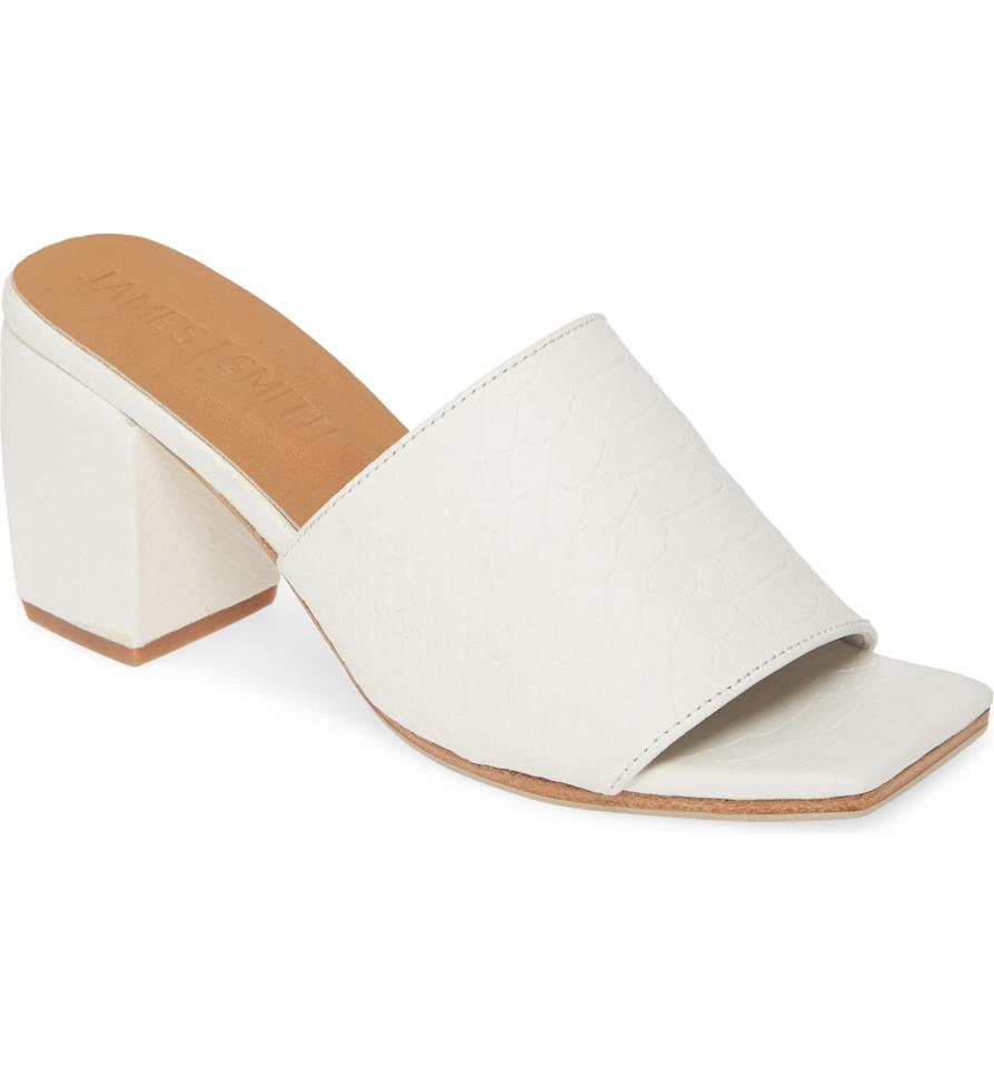 """<p>You'll never tire of these <a href=""""https://www.popsugar.com/buy/James-Smith-Firenze-Slide-Sandals-489520?p_name=James%20Smith%20The%20Firenze%20Slide%20Sandals&retailer=shop.nordstrom.com&pid=489520&price=260&evar1=fab%3Aus&evar9=46601713&evar98=https%3A%2F%2Fwww.popsugar.com%2Ffashion%2Fphoto-gallery%2F46601713%2Fimage%2F46601723%2FJames-Smith-Firenze-Slide-Sandal&list1=shopping%2Cfall%20fashion%2Cshoes%2Cfall%20trends%2Ctrends%2Cfall&prop13=api&pdata=1"""" rel=""""nofollow"""" data-shoppable-link=""""1"""" target=""""_blank"""" class=""""ga-track"""" data-ga-category=""""Related"""" data-ga-label=""""https://shop.nordstrom.com/s/james-smith-the-firenze-slide-sandal-women/5350189?origin=keywordsearch-personalizedsort&amp;breadcrumb=Home%2FAll%20Results&amp;color=black%20denim"""" data-ga-action=""""In-Line Links"""">James Smith The Firenze Slide Sandals</a> ($260).</p>"""