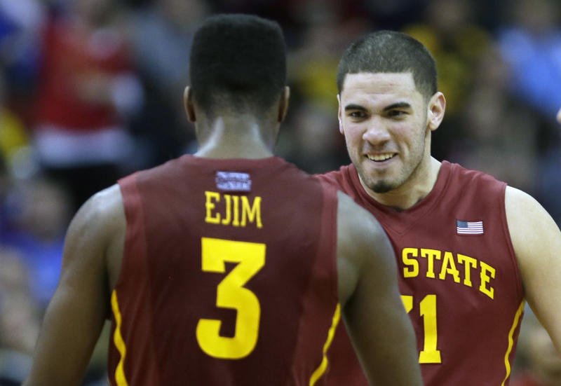 No. 17 Iowa State's offense clicking