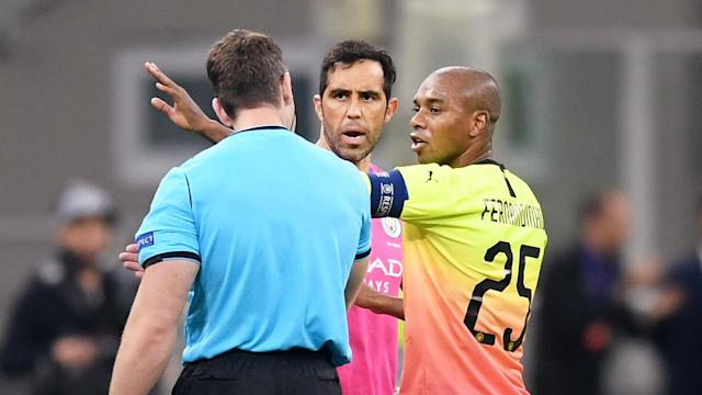 Manchester City's resilience during the 1-1 draw against Atalanta gave Fernandinho encouragement over their prospects at Liverpool.