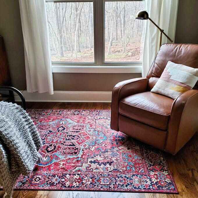 """<h2>World Menagerie Crook Power Loom Area Rug</h2><br><strong>Deal: 49% Off</strong><br>A major steal on a top-selling rug that looks WAY more richy-rich than it actually is. """"STUNNING rug! It's so soft and the design is just beautiful,"""" one beaming customer claims.<br><br><strong>World Menagerie</strong> Crook Oriental Power Loom Bright Red/Navy/Wheat/Ice Blu, $, available at <a href=""""https://go.skimresources.com/?id=30283X879131&url=https%3A%2F%2Fwww.wayfair.com%2Frugs%2Fpdp%2Fworld-menagerie-crook-oriental-power-loom-bright-rednavywheatice-bluegrass-greenivory-rug-w001646412.html%3Fpiid%3D320130647"""" rel=""""nofollow noopener"""" target=""""_blank"""" data-ylk=""""slk:Wayfair"""" class=""""link rapid-noclick-resp"""">Wayfair</a>"""