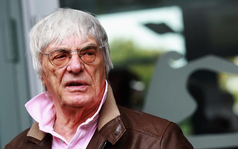 Bernie Ecclestone, a man not without his critics, will be a big part of this year's Festival of Speed - Getty Images Sport