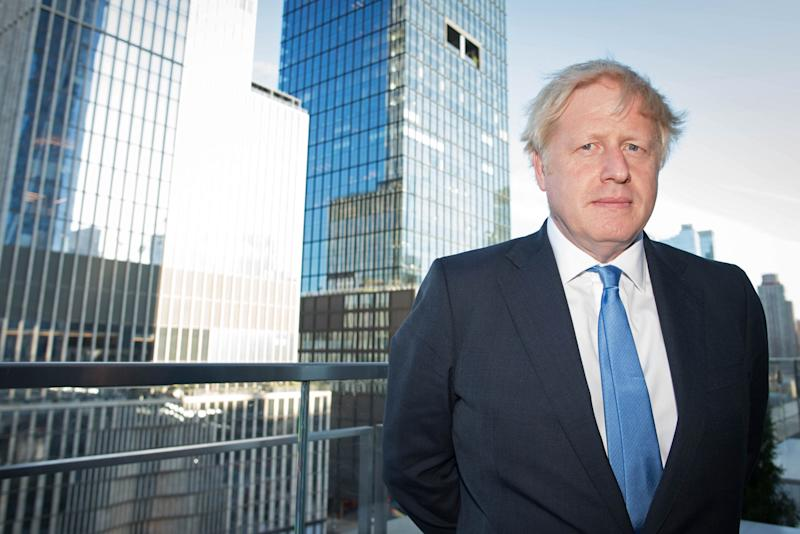 Prime Minister Boris Johnson in New York after judges at the Supreme Court in London ruled that his advice to the Queen to suspend Parliament for five weeks was unlawful.
