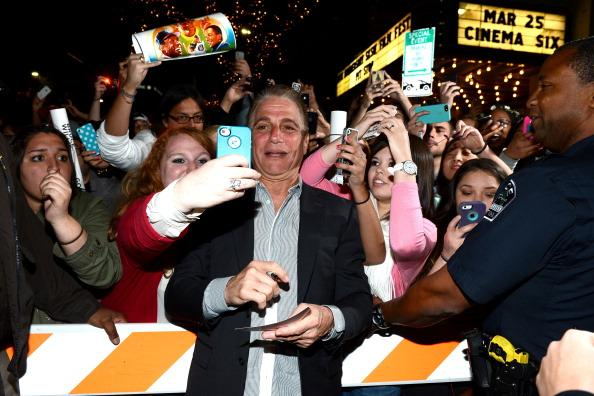"Actor Tony Danza arrives to the screening of ""Don Jon's Addiction"" during the 2013 SXSW Music, Film + Interactive Festival at the Paramount Theatre on March 11, 2013 in Austin, Texas."