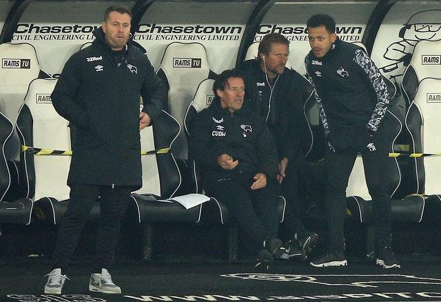Shay Given (left) and Liam Rosenior (right) have been part of a management quartet since Phillip Cocu's sacking
