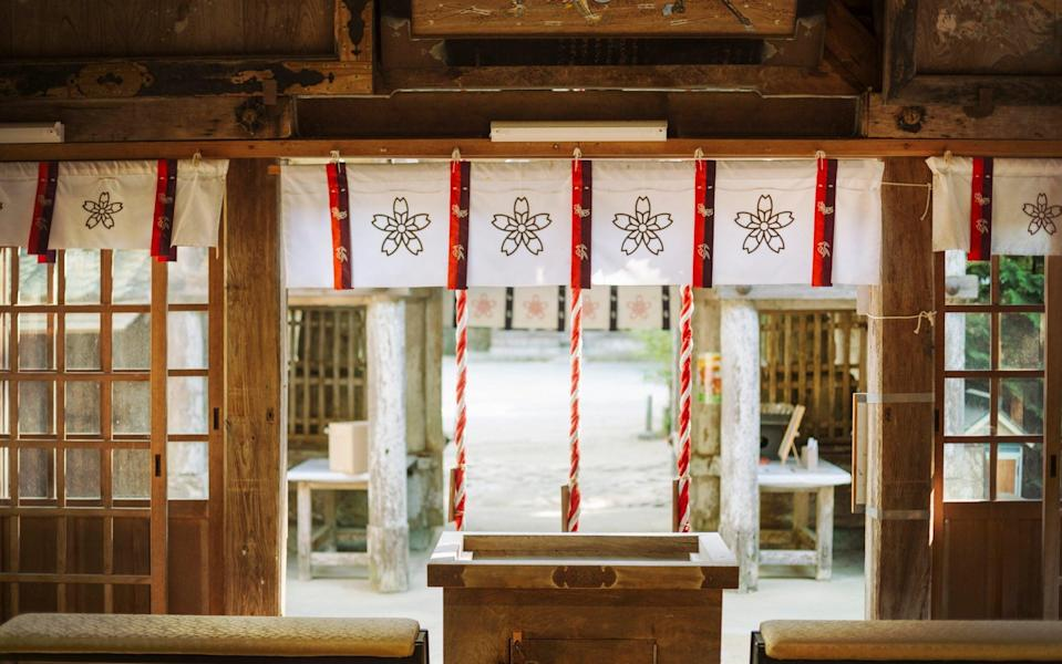 Some Shinto sites still restrict women from visiting - Getty