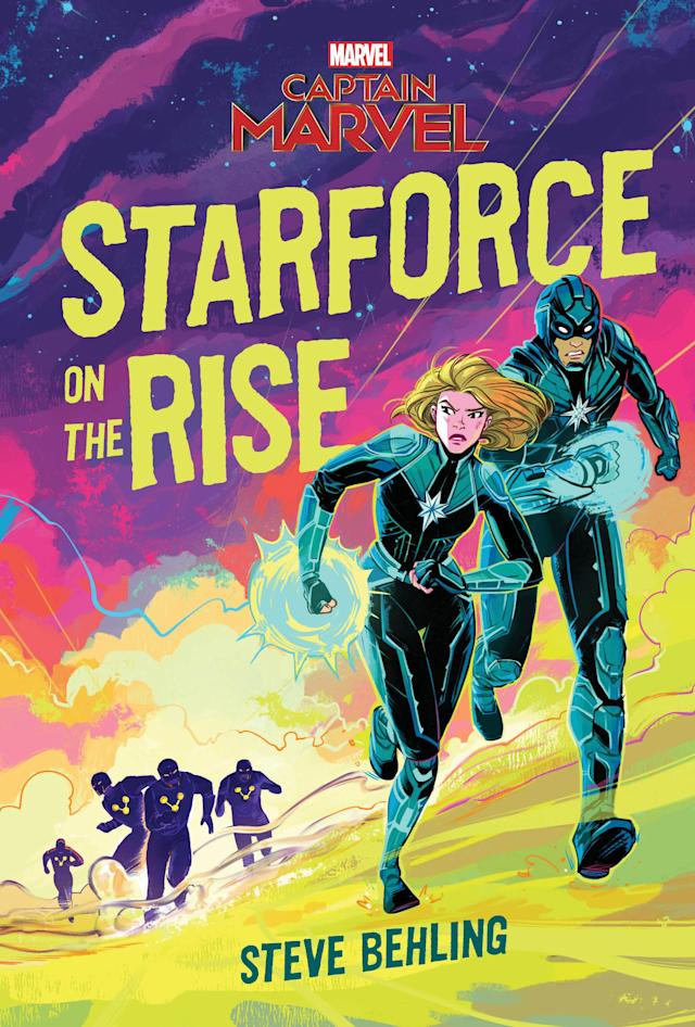 Available in February for $13.99, <em>Starforce on the Rise</em> is a middle-grade novel about the pre-Captain Marvel's days fighting in the Kree-Skrull war. (Photo: Disney)