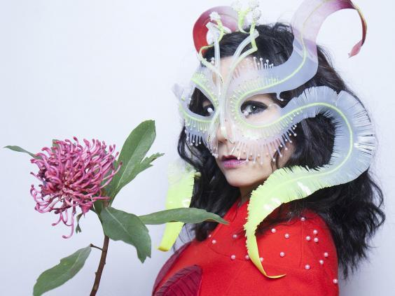 Bjork describes her upcoming spring tour as her 'most elaborate stage concert yet' (Rex)